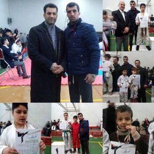 خمام - درخشش تیم آیندهسازان خمام در مسابقات کاراته کومیته انفرادی باشگاههای بندرانزلی
