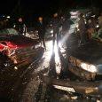 خمام - ۱ مجروح در تصادف ۲ دستگاه خودروی پراید در جادهی خمام به خشکبیجار