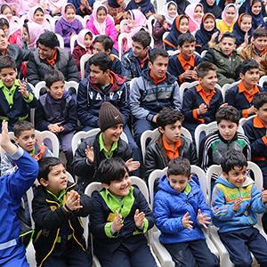 خمام - برگزاری جشن نوروز در مدارس بخش خمام