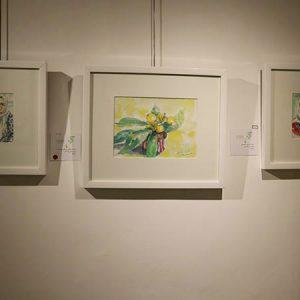 خمام - نمایشگاه نقاشیهای هنرمند ژاپنی در گورابجیر صحرا برگزار شد