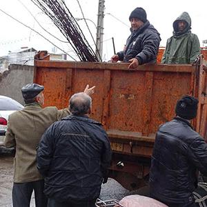 خمام - شهردار خمام : ۷۰۰ اصله نهال سیب خریداری شد / توزیع رایگان نهالها بین مردم