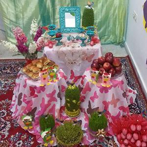 خمام - برگزاری جشن نوروز در مدارس و مهدکودکهای خمام
