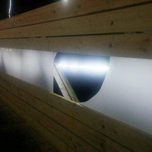 خمام - پدیده وندالیسم به پل افتتاح نشدهی خمام رسید