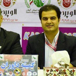 خمام - علیرضا نوروزی در مسابقات لیگ جهانی کاراته به قضاوت میپردازد