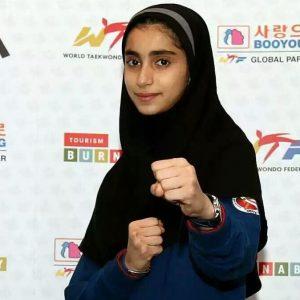 خمام - اعزام مبینا نژاد کتهسری به رقابتهای تکواندوی قهرمانی نوجوانان آسیا