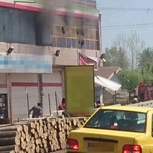 خمام - سفرهخانه سنتی در روستای دافچاه طعمه حریق شد