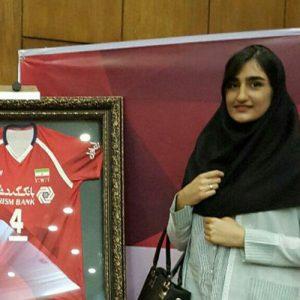 خمام - از سوگند حقپرست در جشن قهرمانی لیگهای برتر والیبال تقدیر شد