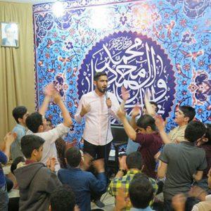 خمام - برگزاری جشن میلاد سرداران کربلا در حسینیه حضرت علی اصغر (ع)