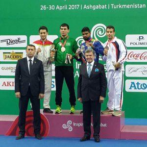 خمام - میلاد پورکاظمی مدال برنز رقابتهای کیک بوکسینگ واکو قهرمانی آسیا را کسب کرد