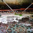 یک واحد قالیشویی بدون سیستم تصفیه پساب صنعتی در چوکام پلمب شد