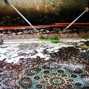 خمام - یک واحد قالیشویی بدون سیستم تصفیه پساب صنعتی در چوکام پلمب شد