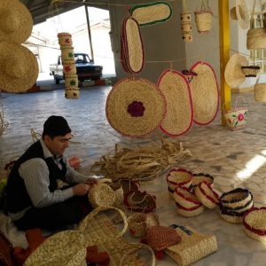 خمام - فشتکه بهعنوان نخستین روستای ملی حصیر در کشور معرفی شد