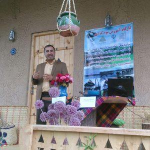 خمام - برگزاری کارگاه آموزشی یکروزه بومگردی
