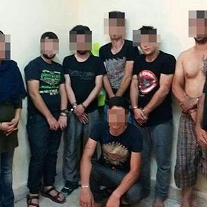خمام - اعضای باند کیف قاپ در خمام دستگیر شدند