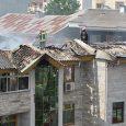 تعدادی ساختمان مسکونی طعمه حریق شد