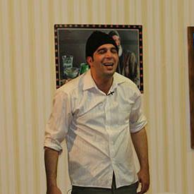 خمام - اجرای کمدین خمامی در جشنواره استندآپ کمدی