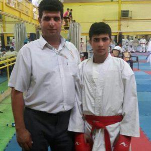 خمام - ماهان نوروزی در لیست ۱۴ کاراتهکا راهیافته به اردوی آمادگی تیم ملی قرار گرفت