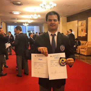 خمام - علیرضا نوروزی به درجه داوری رفری A آسیا دست یافت