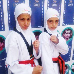 خمام - درخشش ۲ تکواندوکار خمامی در لیگ کشور