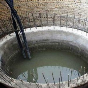 خمام - یک حلقه چاه فلمن در راستای اجرای طرح آبرسانی حفر شد