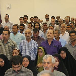 خمام - مراسم تحلیف اعضای شورای اسلامی روستاهای بخش خمام برگزار شد