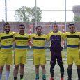 قهرمانی تیم اداره ورزش و جوانان خمام در مسابقات چهارجانبه فوتبال