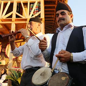 خمام - جشن خرمن در دهنهسر شیجان برگزار شد