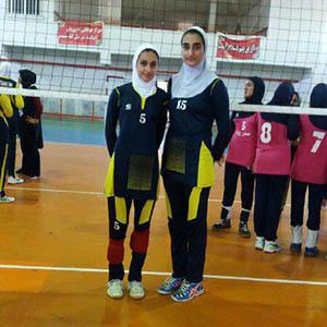 خمام - تیم گیلان به مرحله نیمه نهایی رقابتهای دسته دوم والیبال امید دختران کشور راه یافت