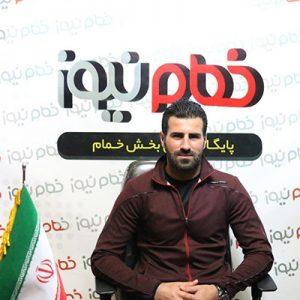 خمام - علی عشوریزاد از کادر فنی تیم سپیدرود جدا شد