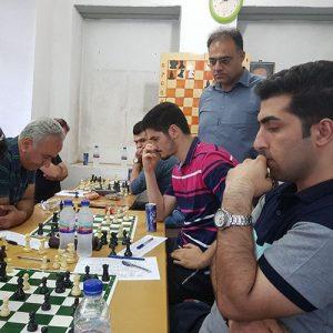خمام - تیم شطرنج خمام نتیجه بازی را ۳ بر ۱ به بانک ملی واگذار کرد