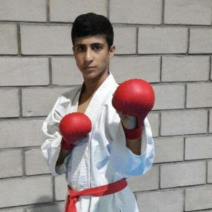 خمام - ماهان نوروزی در اردوی تیم ملی کاراته نونهالان حضور یافت