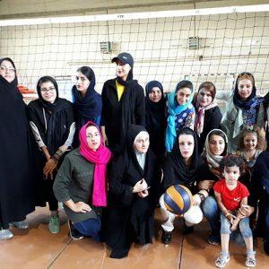خمام - تیم والیبال بانوان فرهنگ خمام ۳ بر ۰ تیم رضوانشهر را مغلوب کرد