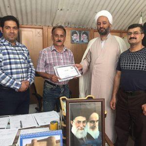 خمام - سیدحسن هاشمی بهعنوان مسئول کمیته پیشکسوتان کونگفو استان گیلان منصوب شد