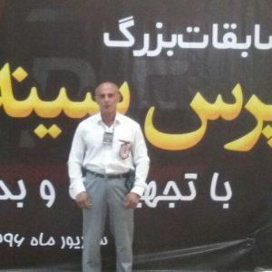 خمام - عباس کاظمی به بیست و یکمین مدال طلای مسابقات پرسسینه کشور دست یافت