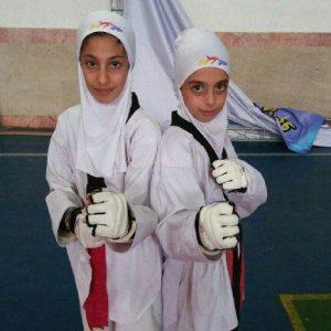 خمام - رویا یوسفیزاده و فاطمه نوروزی برای حضور در رقابتهای قهرمانی تکواندو کشور انتخاب شدند