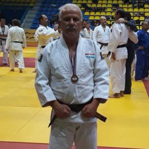 خمام - یونس کاظمی به مقام سوم رقابتهای جودو پیشکسوتان کشور دست یافت
