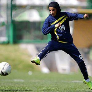خمام - سارا قمی به اردوی آمادهسازی تیم ملی فوتبال بانوان دعوت شد