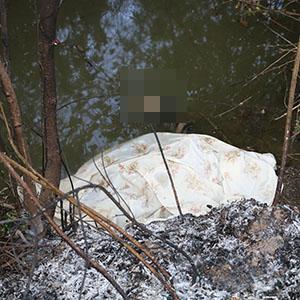خمام - کشف جسد نیمه سوخته زن جوان در رودخانه