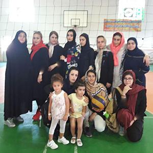 خمام - تیم والیبال بانوان خمام با نتیجه ۳ بر ۰ تیم کیاشهر را مغلوب کرد