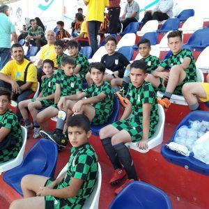 خمام - سجاد طبیبی در ترکیب تیم فوتبال زیر ۱۲ سال گیلان در جشنواره کشوری حضور یافت