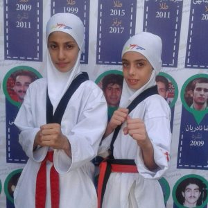 خمام - رویا یوسفیزاده و فاطمه نوروزی حریفان سمنانی را مغلوب کردند