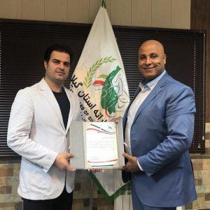 خمام - علیرضا نوروزی بهعنوان رئیس شورای داوران کاراته گیلان معرفی شد