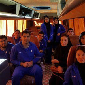 خمام - امیررضا پوررمضانعلی به بازیهای آسیایی عشقآباد ترکمنستان اعزام شد