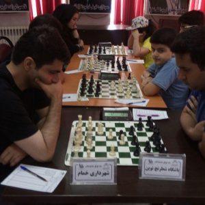 خمام - ۴ تیم خمامی در رقابتهای لیگ برتر شطرنج استان گیلان حضور یافتند