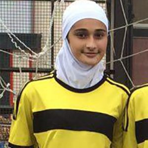 خمام - خدیجه مشهدی به اردوی تیم ملی فوتبال زیر ۱۵ سال ایران دعوت شد