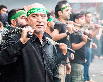 سوگواری مردم در تاسوعا و عاشورای حسینی