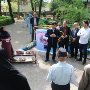 خمام - اردوی سلامت با حضور سالمندان روستای مرزدشت برگزار شد
