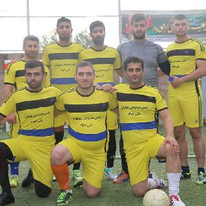 خمام - تیم نیروی انتظامی در رقابتهای چهارجانبه فوتبال به قهرمانی دست یافت