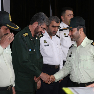 از فرماندهان نیروی انتظامی خمام تقدیر شد