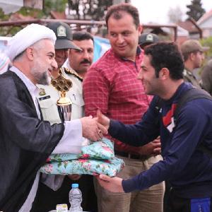 خمام - نائب قهرمان تیم شهید فانی در مسابقات فوتبال یادواره شهدای زیباکنار